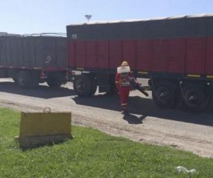 foto: Coronavirus: Camionero está preso por bajar a controlar su carga