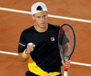 foto: Schwartzman ganó y pasó a segunda ronda en Francia