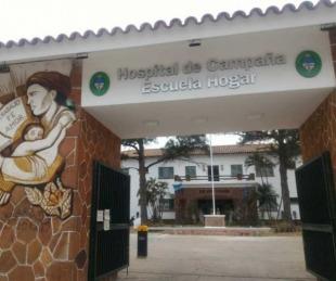 foto: Murió una mujer de 97 años por coronavirus en el Hospital de Campaña