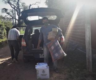 foto: Desarrollo Social asistió en forma inmediata a dos familias