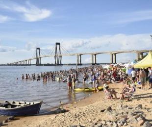 foto: Capital: por el momento habilitan playas como