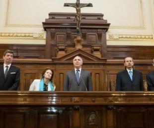 foto: La Corte Suprema deja en suspenso la remoción de los jueces