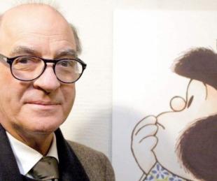 foto: Murió Quino, el creador de la pequeña Mafalda